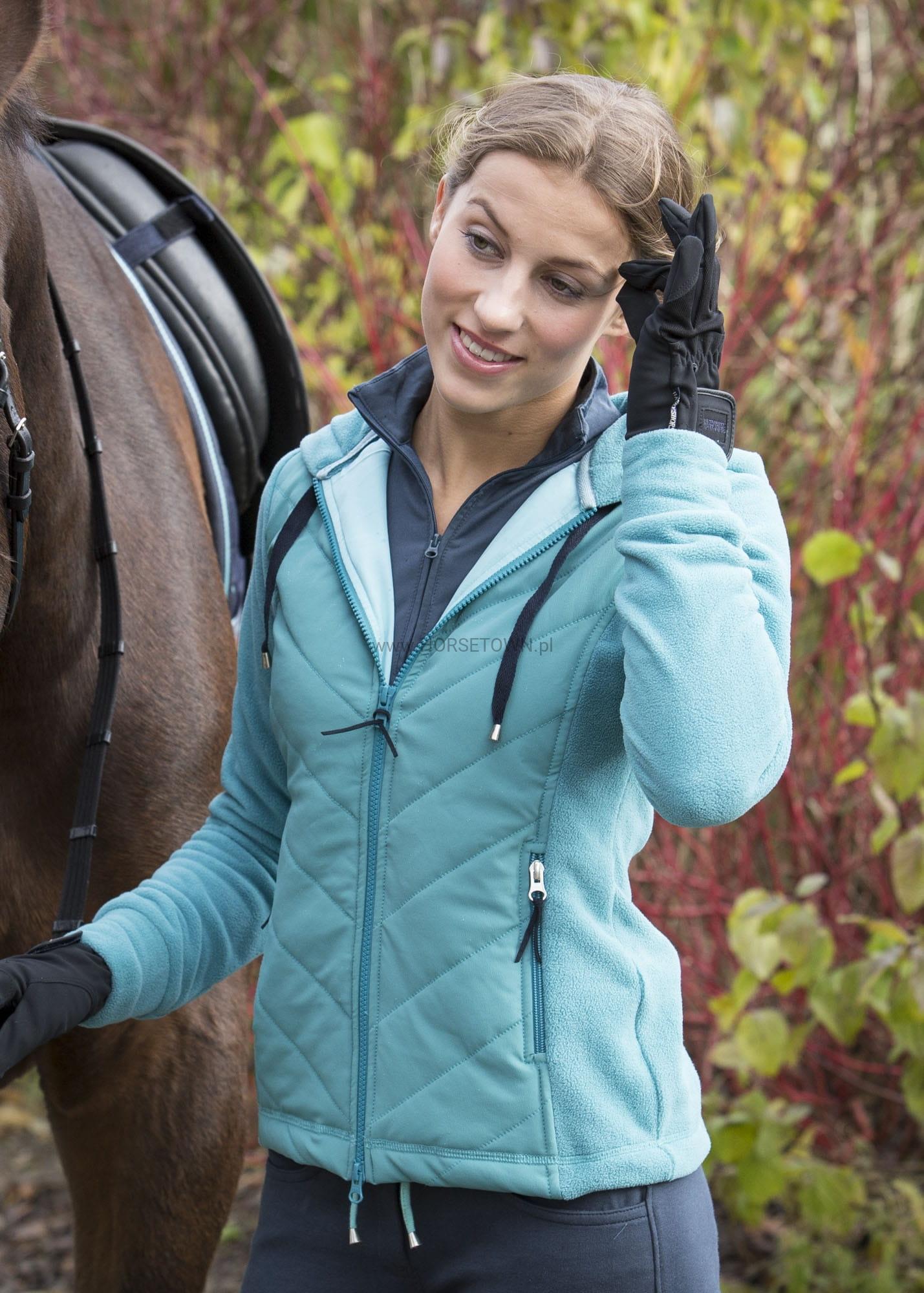 6208008cada7d Harry's Horse ciepła bluza Filton Teal HORSETOWN Sklep Jeździecki