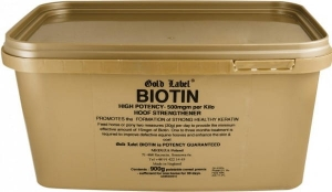 Biotin Gold Label biotyna