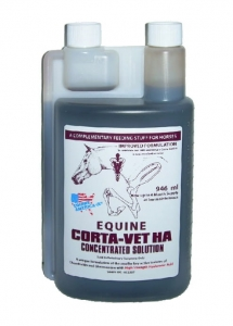 Equine Corta Vet HA Solution 1l (zapas na 2 m-ce)